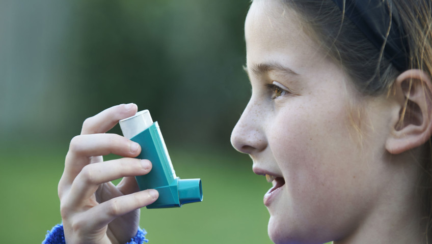 Girl With Mold Asthma